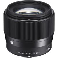 Объектив Sigma 56mm f/1.4 DC DN Contemporary Sony E // MFT