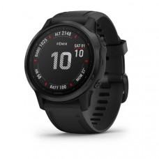 Часы FENIX 6S Pro черный с черным ремешком