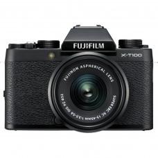 Фотоаппарат беззеркальный Fujifilm X-T100 Kit XC 15-45mmF3.5-5.6 OIS PZ Black