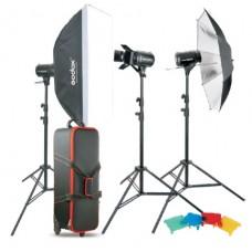 Студийный свет Godox E250-D (комплект из 3х приборов)