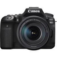Фотоаппарат зеркальный Canon EOS 90D Kit 18-135 IS USM