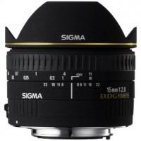 Объектив Sigma AF 15mm f/2.8 EX DG DIAGONAL FISHEYE Canon // Nikon