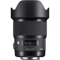 Объектив Sigma 20mm f/1.4 DG HSM ART CANON // NIKON